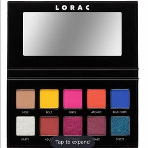 Lorac Neon Lights PRO pressed pigments palette 🎨